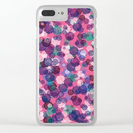 Abstract XXIX Clear iPhone Case