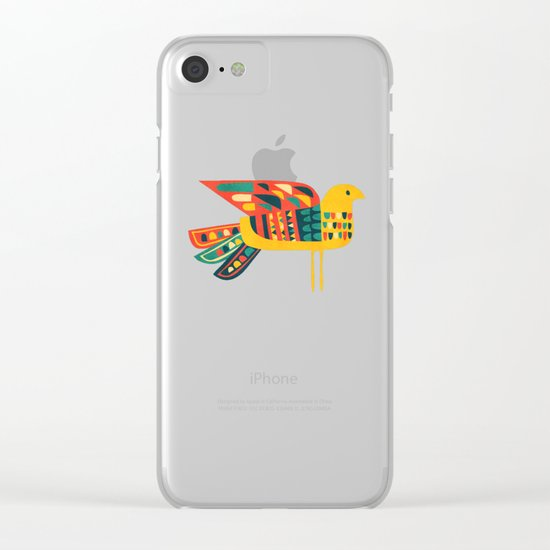 Century Bird Clear iPhone Case