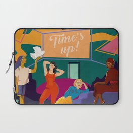 TIME'S UP by Anyeva Laptop Sleeve