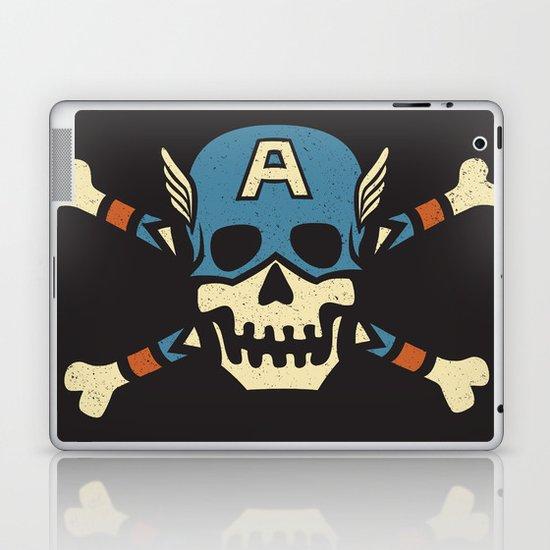 Captain 'Jolly' Rogers  Laptop & iPad Skin