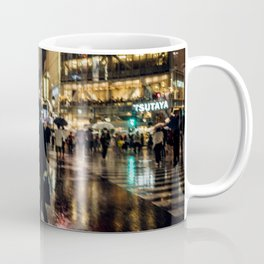 Love actually is all around - Rainy Night at Shibuyacrossing Coffee Mug