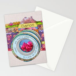 FLORAL CAN0N Stationery Cards