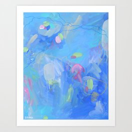 The Dream - Abstract Fresh Contemporary Art Print
