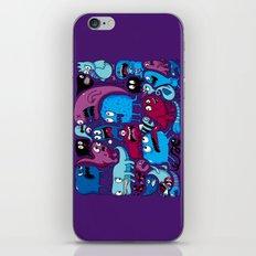 Deep Purple iPhone & iPod Skin