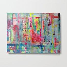 Kitsch abstract  Metal Print
