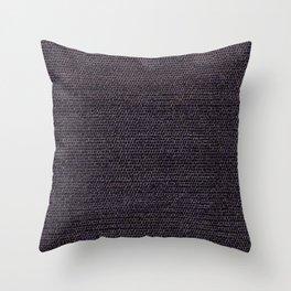 Grey Flat Weave Rug Texture Pattern Throw Pillow