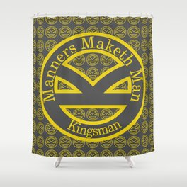 Manners Maketh Man [Kingsman] Shower Curtain