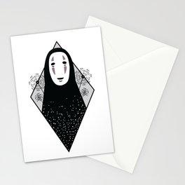 No Face - Hayao Miyazaki's Spirited Away Stationery Cards