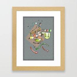 Ambient Form Framed Art Print