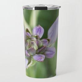 Lavender Velvet Slippers Travel Mug