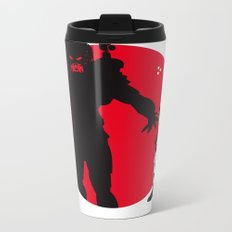 Predator Cartoon Style Metal Travel Mug
