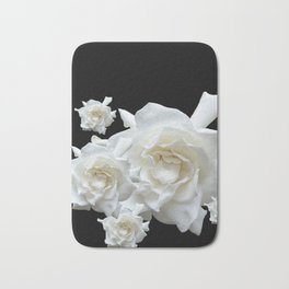 Gardenia on Black DPG150524 Bath Mat