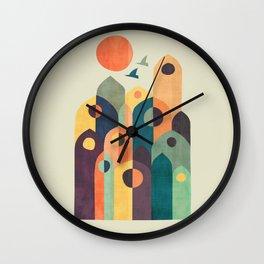 Ancient city Wall Clock