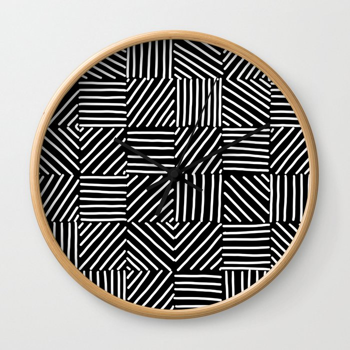 Sketching Abstraction Wall Clock