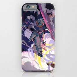 Zeta Gundam Showdown iPhone Case