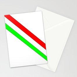 flag of Italia scarf- Italy,Italia,Italian,Latine,Roma,venezia,venice,mediterreanean,Genoa,firenze Stationery Cards