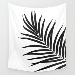 Tropical Palm Leaf #1 #botanical #decor #art #society6 Wall Tapestry