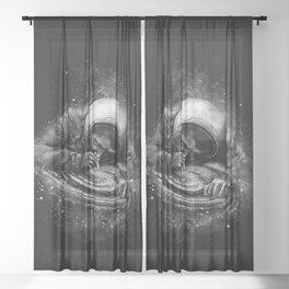 Space Junkie Sheer Curtain