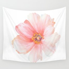 Pink Flower :D Wall Tapestry