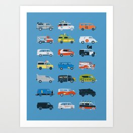 It Would Have Been Cooler as a Van Art Print