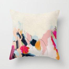 abstract art Throw Pillow