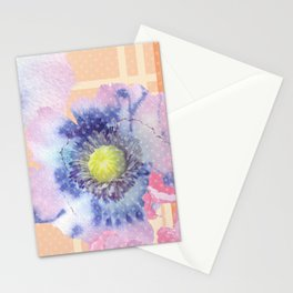 Retro Floral Watercolour Stationery Cards