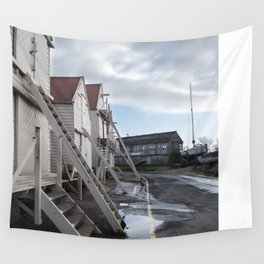 Sea Wall | Tollesbury England Wall Tapestry