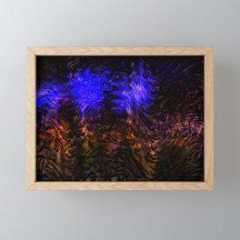 Concept abstract : Purple emotion Framed Mini Art Print