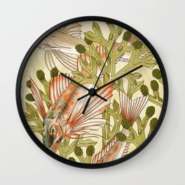 Maurice Pillard Verneuil - Rouget from L'animal dans la décoration Wall Clock