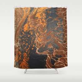 Wings of Air Shower Curtain
