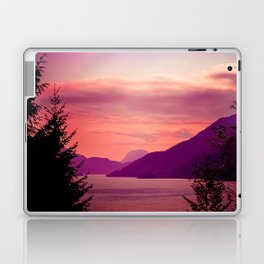 Sunset Sea to Sky Laptop & iPad Skin