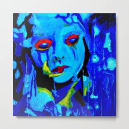 Blue Moon #society6 #decor #buyart Metal Print
