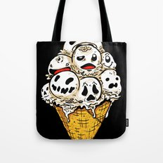 I Scream on Friday the 13th Tote Bag