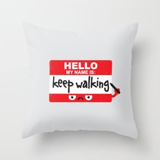 The Red Badge of Discourage Throw Pillow