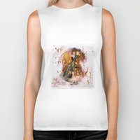 champagne Biker Tanks featuring champagne by Nathalie56