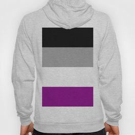 Flag of asexuality Hoody