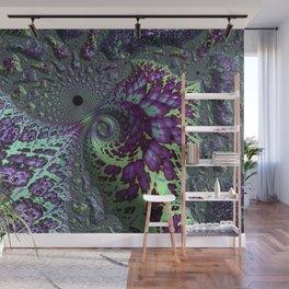 Glitchy Fractal Wall Mural