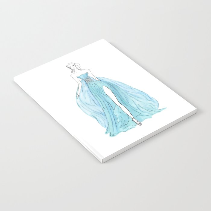 Floating Dress Notebook