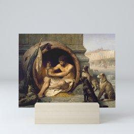 Jean-Léon Gérôme - Diogenes Mini Art Print