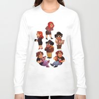it crowd Long Sleeve T-shirts featuring IT Crowd by SIINS
