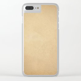 Page of paper Clear iPhone Case