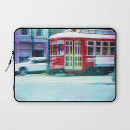 Streetcar on Canal Street Laptop Sleeve