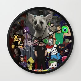 Super Duper Awesome JackSepticEye Poster Wall Clock