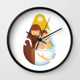 Joy to the World Wall Clock