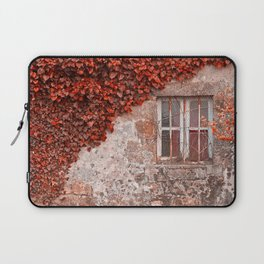 Red Ivy Wall Laptop Sleeve