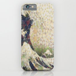 The Great Wave Of Honeydew Melon After Hokusai iPhone Case