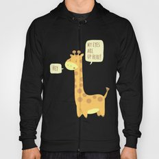 Giraffe problems! - Baby Blue version Hoody