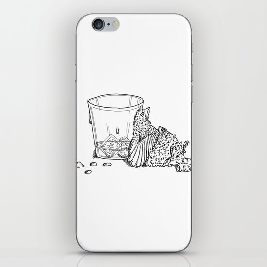 Thirsty Grouse iPhone & iPod Skin