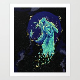 Lightning Spirit Art Print