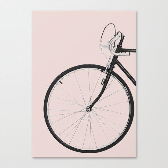 Bike travel Canvas Print